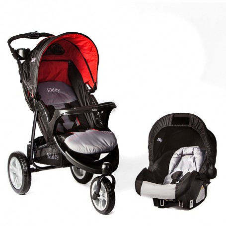 Kiddy Coche Huevito Multiples Pos De Reclinado 0 A 25kg