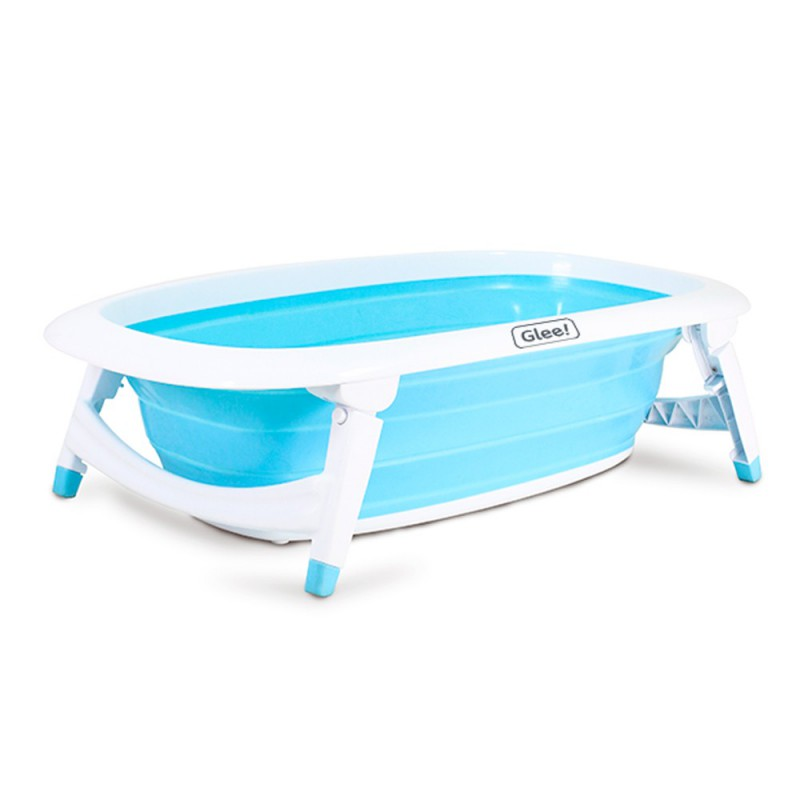 Bañera Bebe Plegable Glee Baby Bath Reclinable
