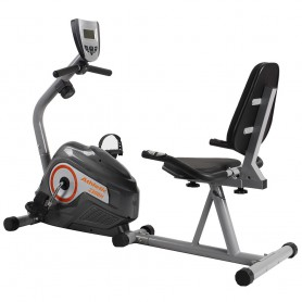 Bicicleta Fija Recumbent Horizontal Magnetica Athletic